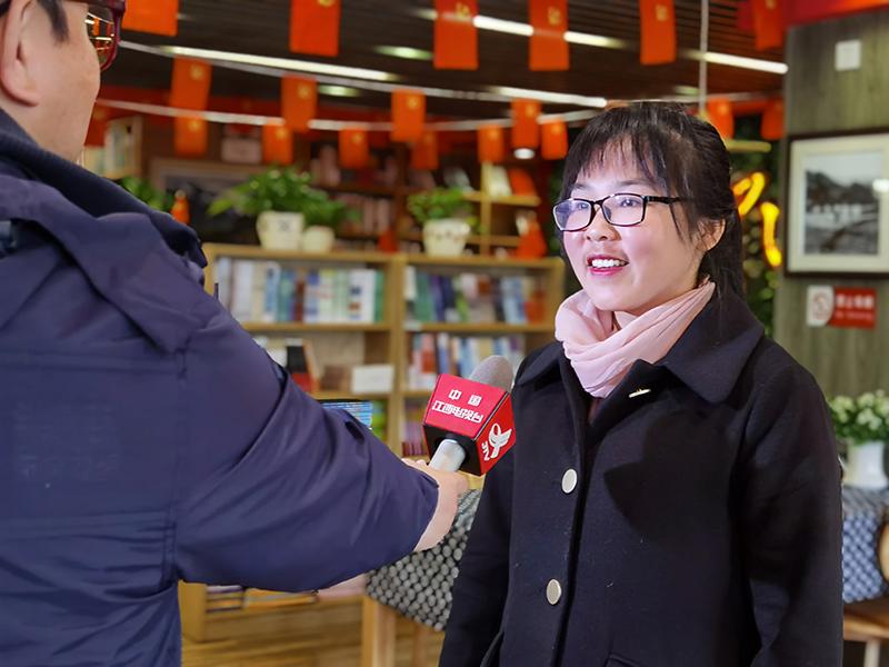 我校培训部张志梅主任受邀接受江西电视台采访采访